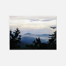 Smoky Mountain Morning 5'x7'Area Rug