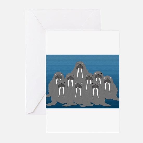Walrus s Greeting Cards