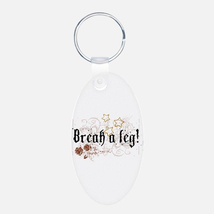 Break a Leg Keychains