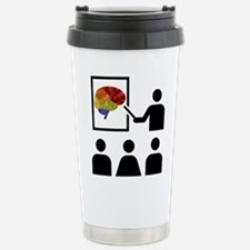 Cute Brain cancer Travel Mug