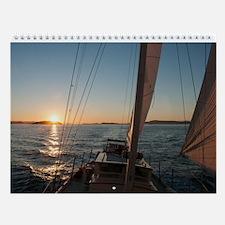 Wall Calendar-Sailing San Juans