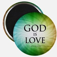God is Love Magnets