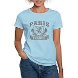 Paris france Women's Light T-Shirt