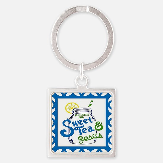 Sweet Tea and Jesus Keychains