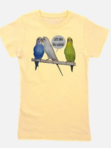 """Parakeet Humor #9"" T-Shirt"