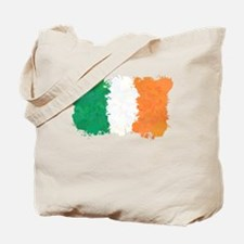 Flag of Ireland (Ink Spots) Tote Bag