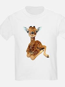 baby giraffe Women's Cap Sleeve T-Shirt