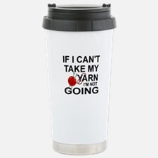 Cute Knitting Travel Mug