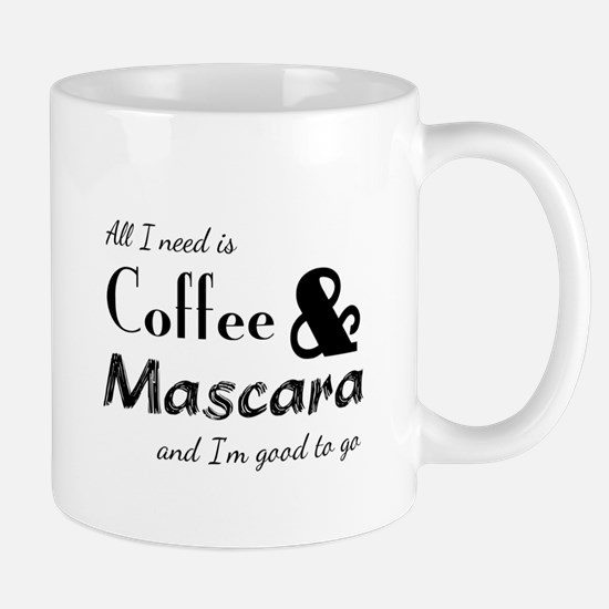Coffee & Mascara Mugs