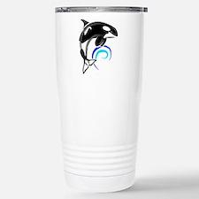 Unique Whales dolphins Travel Mug