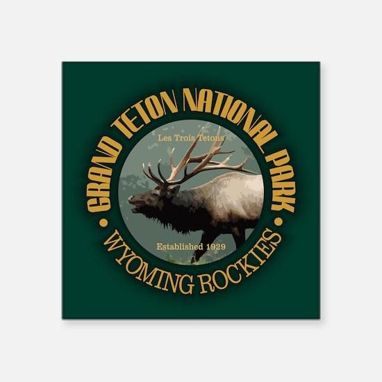Grand Teton NP (elk) Sticker