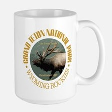 Grand Teton NP (elk) Mugs