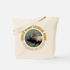 Grand Teton NP (elk) Tote Bag
