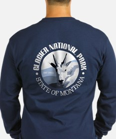 Glacier National Park (goat) Long Sleeve T-Shirt