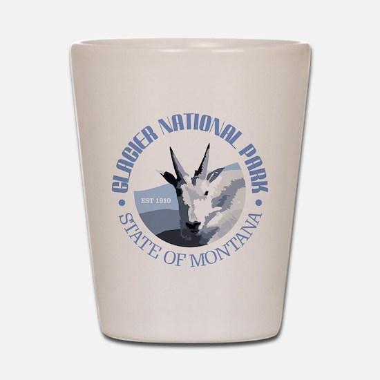 Glacier National Park (goat) Shot Glass
