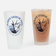 Glacier National Park (goat) Drinking Glass