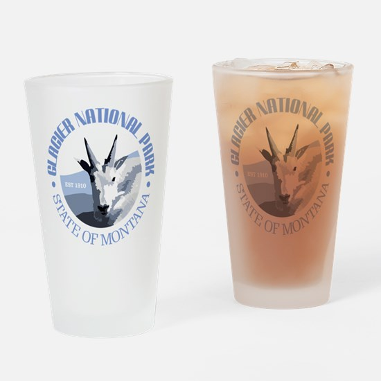 Glacier National Park (goat) Drinking Glass