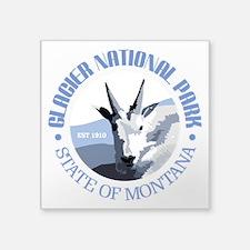 Glacier National Park (goat) Sticker