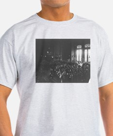 Board of Trade During Session Ash Grey T-Shirt
