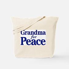 Grandma for Peace Tote Bag