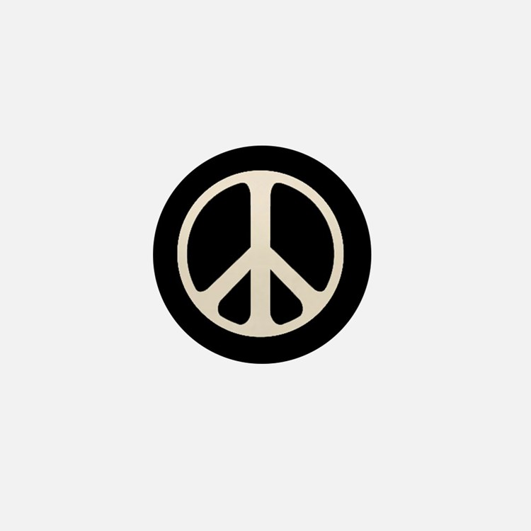 The Classic Peace Mini Button