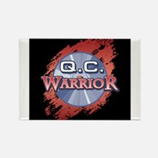 """Q.C. Warrior"" Magnets"