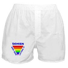 Damien Gay Pride (#005) Boxer Shorts
