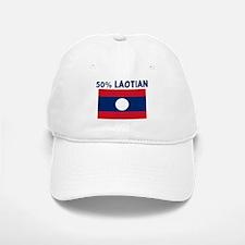 50 PERCENT LAOTIAN Baseball Baseball Cap