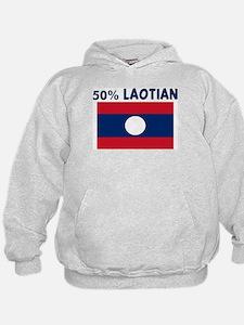 50 PERCENT LAOTIAN Hoodie