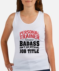 Badass Personal Trainer Tank Top