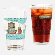 Funny Film Drinking Glass