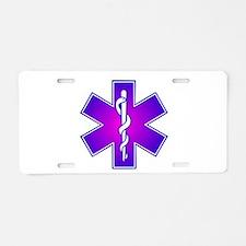 Star of Life Aluminum License Plate