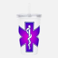Star of Life Acrylic Double-wall Tumbler