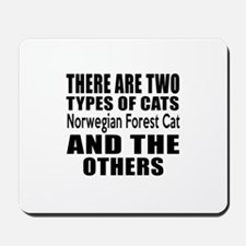 There Are Two Types Of Norwegian Forest Mousepad