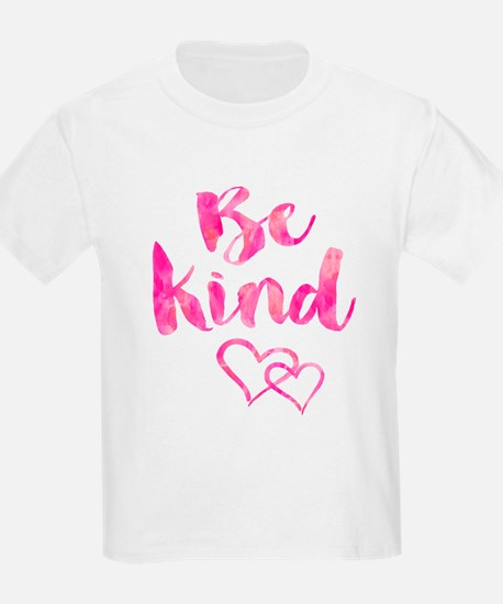 Be Kind Watercolor Inspirational Quote Mot T-Shirt