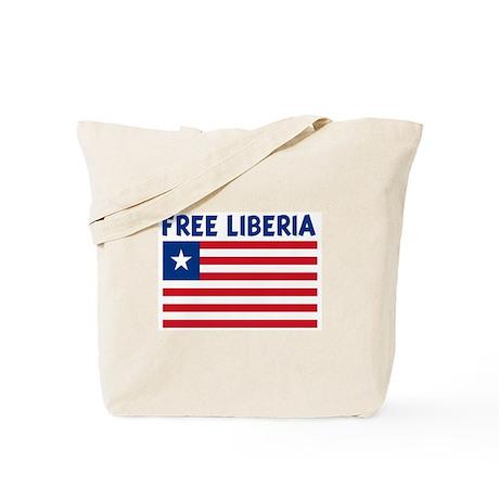 FREE LIBERIA Tote Bag