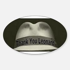 Thank You Leonard Decal