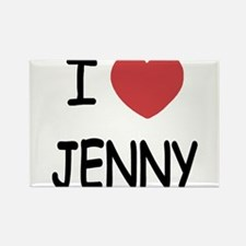 I heart JENNY Magnets
