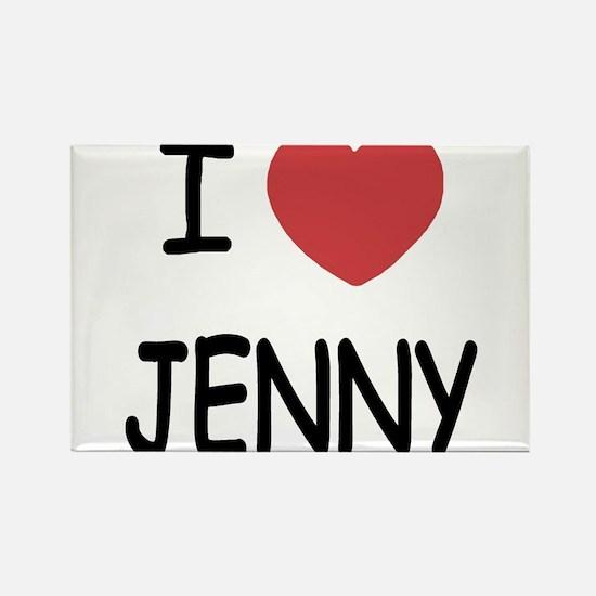 I heart JENNY Magnets