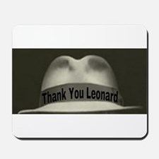 Thank You Leonard Mousepad
