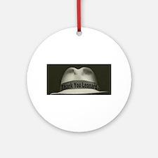 Thank You Leonard Round Ornament