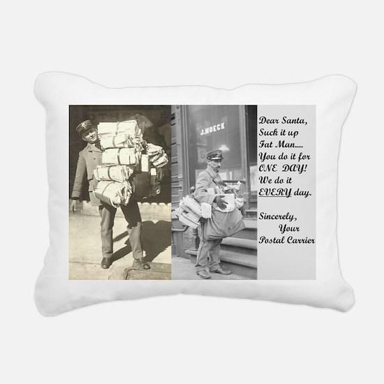 Funny Postal Rectangular Canvas Pillow