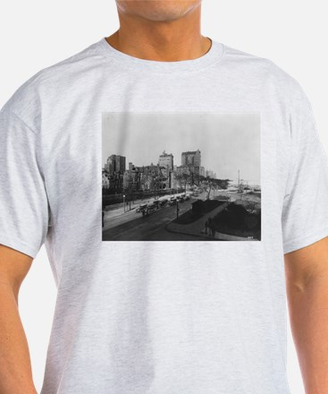 Lake Shore Drive Ash Grey T-Shirt