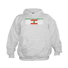EVERYBODY LOVES A LEBANESE GI Hoodie