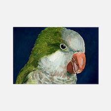 Unique Quaker parakeet Rectangle Magnet