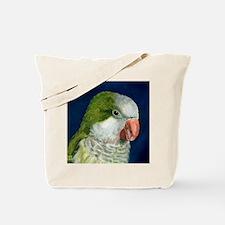 Cute Quaker parrots Tote Bag