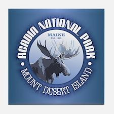 Acadia National Park (moose) Tile Coaster