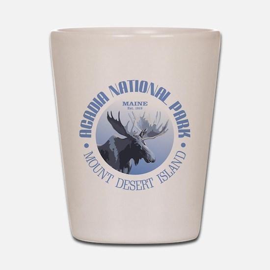 Acadia National Park (moose) Shot Glass