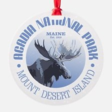 Acadia National Park (moose) Ornament