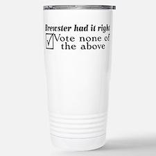 Unique Chest Travel Mug